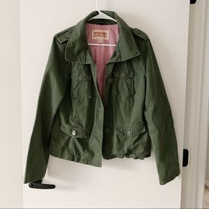 Mossimo Supply Co. (Target) Green Utility Jacket